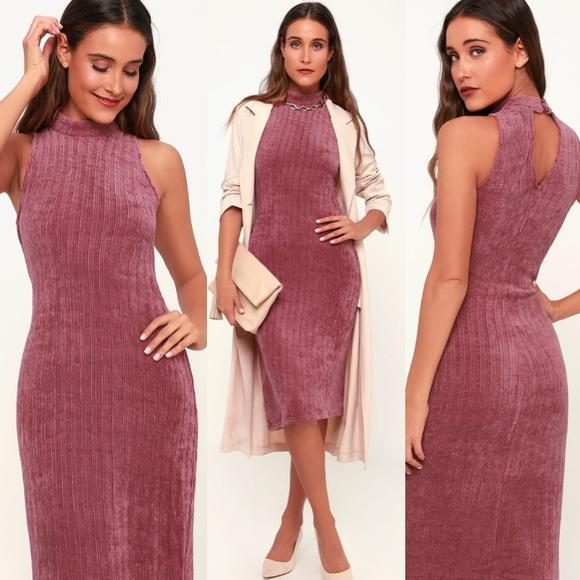 Lulu's Dresses & Skirts - Mock neck sweater dress